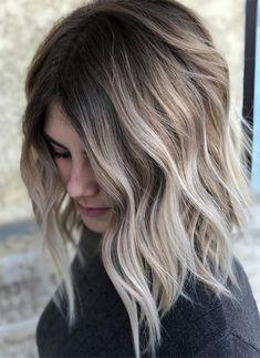 Caramel Blonde Sombre Hair Color For Summer 2018