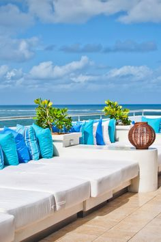 With just 80 rooms, San Juan Water Beach Club has a hip, intimate vibe. #Jetsetter