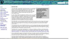 AAAS Atlas of Population and Environment Atlas, Environment