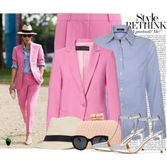 """""""Pink Street Chic!"""" by modestyfashions on Polyvore"""