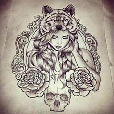 Tatuagem para ombro #ideia1