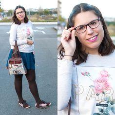 Vintage Paris - Temporada: Otoño-Invierno - Tags: modeintechnicolor, fashionblogger, ootd, look, outfit, vintage - Descripción: Una vez más, París está por mi blog y vuelve de lo más vintage ❤   #FashionOlé