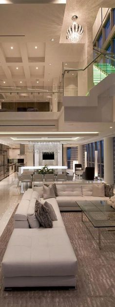 Interior of a Luxury Apartment #luxurydesign