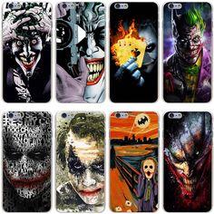 batman joker Dark Knight Hard Transparent Cover Case for iPhone 7 7 Plus 6 6S Plus 5 5S SE 5C 4 4S