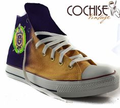 Custom AirBrush Converse Chuck Taylors All Stars by CochiseVintage