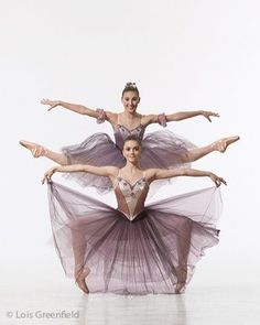 New York City Ballet Dancers by Lois Greenfield