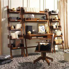 LADDER MESA ESCRITORIO 83,6 Ladder Bookcase, Future House, Sweet Home, Shelves, House Styles, Bed, Furniture, Design, Home Decor