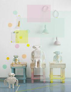 Deko, styling by Jenni Juurinen, photo Mirva Kakko #Interior_Design #Robots
