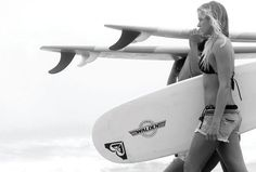 Heading out for a surf