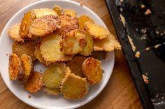 Parmezános-fokhagymas sült burgonya recept