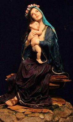 Mary: Madonna and Child by Patricia Rose