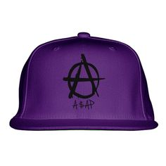 Asap Embroidered Snapback Hat