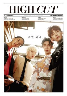 """[MAGAZINE] WINNER for cover of High Cut vol.196"""