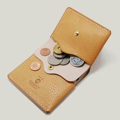 Bi_Fold Wallet [Marshmallow + Natural] - Mimicrow