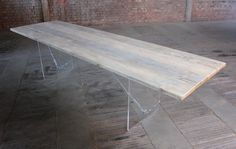 Scaffold Board Dining and Board Room Tables