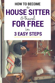 A FREE place to sleep anywhere in the world? Yep, it's possible – if you're willing to put in a bit of work to watch a house (or pets!). Here's how to become a house sitter and travel for free! #travelhacking #housesitting