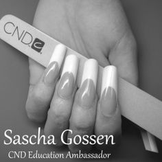 #CND #FrenchManicure #French #competitionnails #CNDcompetitionteam #enhancements
