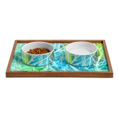 Rosie Brown Coral View Pet Bowl and Tray | DENY Designs Home Accessories #bowl #tray #pets #dog #cat #art #denydesigns