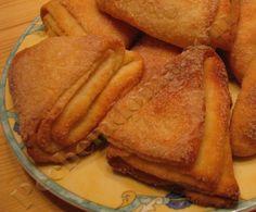 Творожное печенье «Гусиные лапки» | Pechemdoma.com