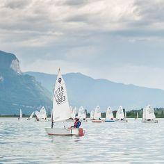 young opti sailing school.