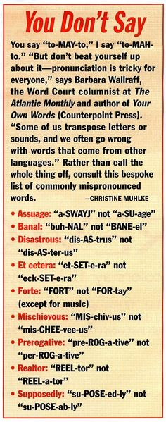 When doing things the right way completely confuses everyone. #grammar #pronunciation