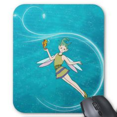 Fairy - Water Nymph Mousepad     #fairy #backtoschool #office #zazzle