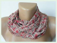 fashion scarf 2012floral chiffon scarffor woman fashion by seno, $15.00
