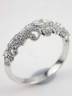 Vintage Wedding band - gorgeous!!