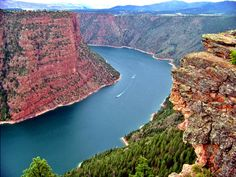Flaming Gorge, Utah...beautiful and serene!  This picture really doesn't do it justice.