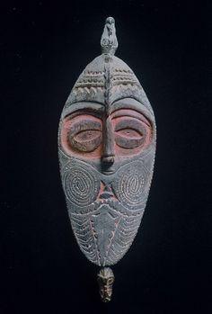 Papua New Guinea Flute Mask : Lot 46