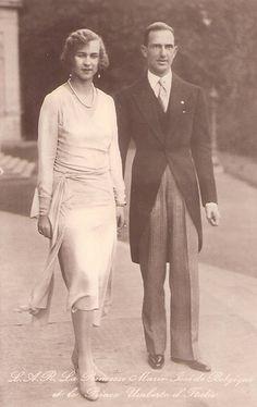 Kronprinz Umberto und Kronprinzessin Marie Jose von Italien , future King &  Queen of Italy by Miss Mertens, via Flickr