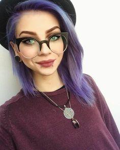 lunette de vue femme style personnage de BD