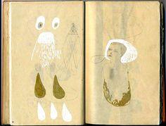 Drawings by artist Julia Selin