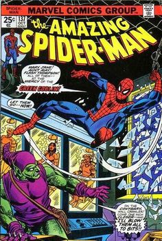 Amazing Spider-Man #137. The Green Goblin is back.