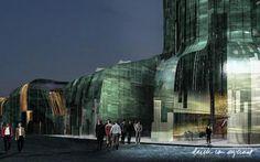Erick van Egeraat - Architects - Architectural and Design Projects - Hotel Khanty-Mansiysk