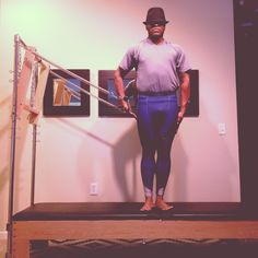 "Go Out ""SPRINGing"" @PilatesDwell_Canton   Cadillac Exercise: Side Pull :: Strengthens #shouldergirdle #sidebody #posture • #pilates #pilatesinstructor #pilatesformen #contrology #classicalpilates #calisthenics #fitness #gymnastics #personaltrainer #yoga"