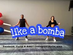 Denorecords - Like A Bomba // ZUMBA Choreo by Flurim & Anka - YouTube