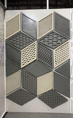 alumiunm mesh and perforated metal mesh Expanded Metal Mesh, Metal Facade, Metal Grid, Perforated Metal, Metal Ceiling, Cnc, Weaving, Environment, Metal Roof