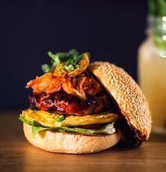 Mr. Kim Chi visits Innsbruck. Kimchi Burger at Ludwig (Das Burger Restaurant)
