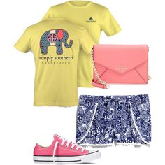 #roseconversecontest by margaretinmotion on Polyvore featuring polyvore, beauty, Kate Spade, Converse, Lilly Pulitzer and roseconversecontest