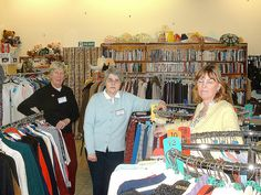 Dedicated charity shop workers, Coldstream