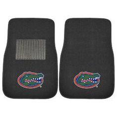 Florida Gators NCAA 2-pc Embroidered Car Mat Set