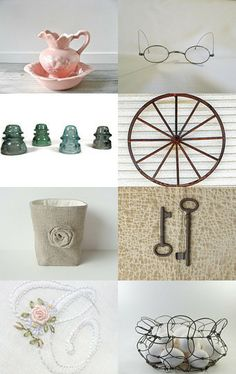 Spring Pastels by Alison on Etsy--Pinned with TreasuryPin.com