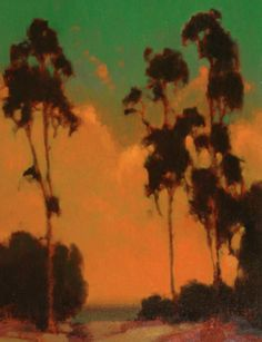 BRIAN BLOOD Eucalyptus Sunset