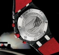 Audemars Piguet Royal Oak Offshore Singapore F1 special edition chronograph.