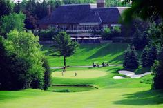 King Valley - Aurora, Ontario Club Link premier course Beautiful track  Played July 2014