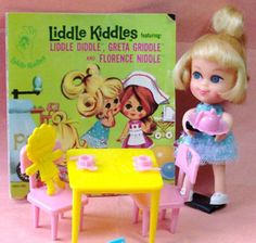 Greta Griddle Liddle Kiddle 1966