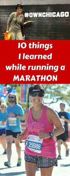 10 things I learned while running the Chicago Marathon