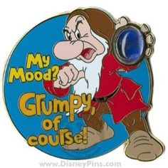 my mood? grumpy of course Grumpy Meme, Grumpy Dwarf, Grumpy Cat, Grumpy Quotes, Disney Trading Pins, Disney Pins, Daffy Duck Quotes, Drunk Disney, Funny Adult Memes
