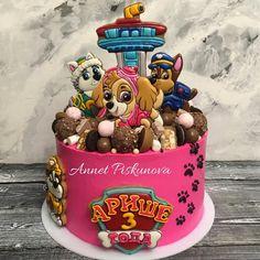 А вот и сам тортик на 3 годика Ариши))